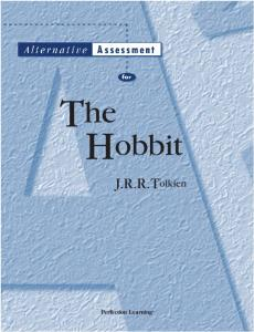 The Hobbit. J.R.R.Tolkien. Perfection Learning