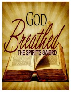 The Holy Spirit: The Inspiration and Confirmation of the Word