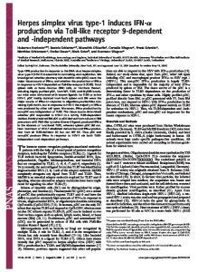 The immune system recognizes pathogen-associated molecular