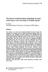The impact of information technology on open urban space: the case study of Taksim square