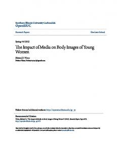 The Impact of Media on Body Images of Young Women