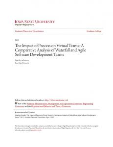 The Impact of Process on Virtual Teams: A Comparative Analysis of Waterfall and Agile Software Development Teams