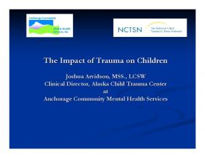 The Impact of Trauma on Children