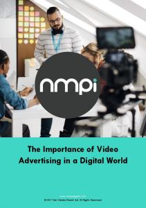 The Importance of Video Advertising in a Digital World