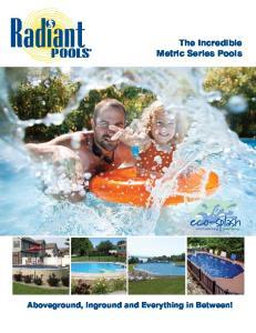 The Incredible Metric Series Pools
