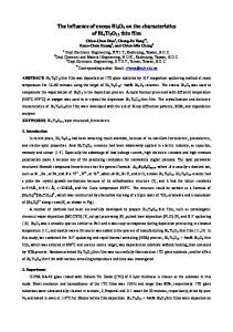 The influence of excess Bi 2 O 3 on the characteristics of Bi 4 Ti 3 O 12 thin film
