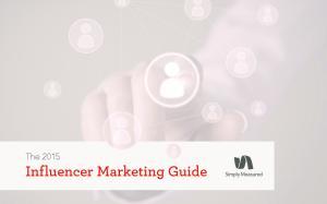 The Influencer Marketing Guide