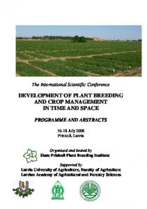 The International Scientific Conference
