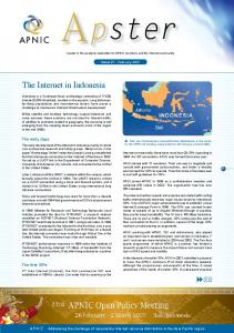 The Internet in Indonesia