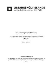 The Interrogation of Proteus