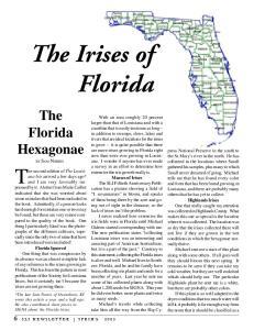 The Irises of Florida