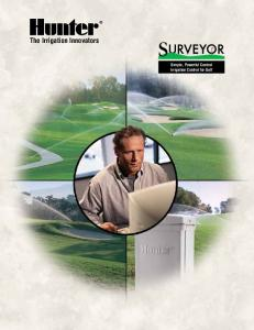 The Irrigation Innovators. Simple, Powerful Central Irrigation Control for Golf