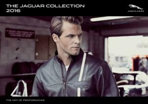 THE JAGUAR COLLECTION 2016 THE ART OF PERFORMANCE