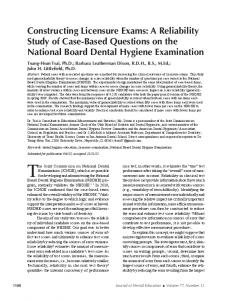 The Joint Commission on National Dental