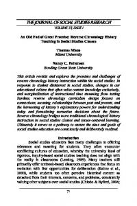 The Journal of Social Studies Research