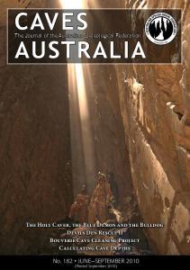 The Journal of the Australian Speleological Federation