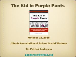 The Kid in Purple Pants