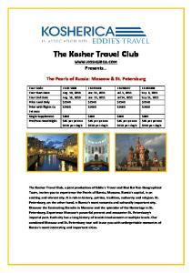 The Kosher Travel Club