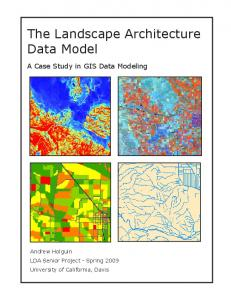 The Landscape Architecture Data Model