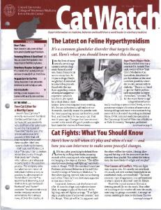 The Latest on Feline Hyperthyroidism