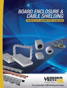 The Leading Source for EMI Shielding and Applications Support!