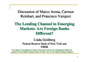 The Lending Channel in Emerging Markets: Are Foreign Banks Different?