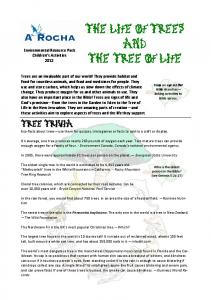 The Life of Trees and The Tree of Life