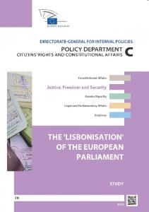 THE LISBONISATION OF THE EUROPEAN PARLIAMENT STUDY
