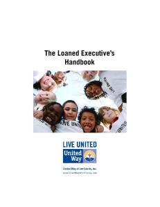 The Loaned Executive s Handbook