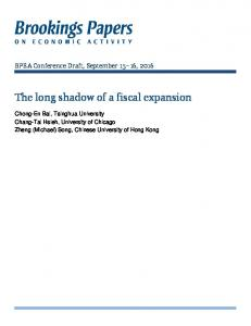 The long shadow of a fiscal expansion