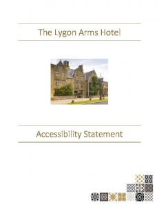 The Lygon Arms Hotel. Accessibility Statement