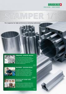 The magazine for high-performance stamping technology
