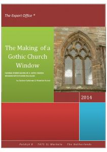 The Making of a Gothic Church Window