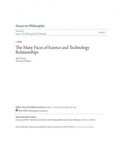 The Many Faces of Science and Technology Relationships