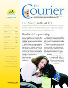 The Many Gifts of CCI