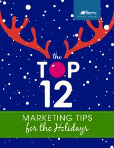 the MARKETING TIPS for the Holidays