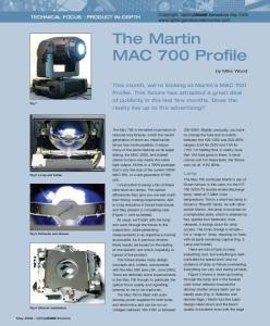 The Martin MAC 700 Profile
