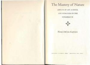The Mastery of Nature