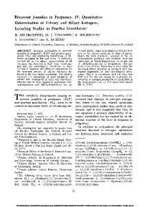 THE metabolic disturbances causing recurrent