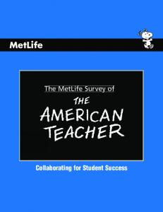 The MetLife Survey of