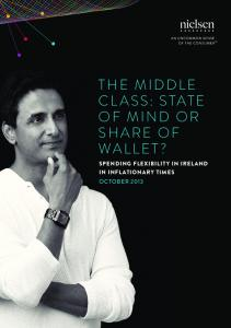 THE MIDDLE CLASS: STATE OF MIND OR SHARE OF WALLET?