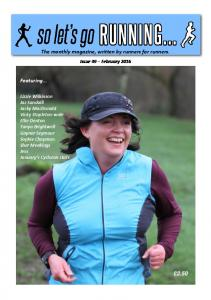 The monthly magazine, written by runners for runners