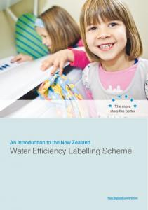 The more stars the better. An introduction to the New Zealand Water Efficiency Labelling Scheme