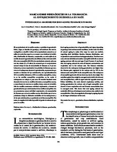 The morphological, physiological and biochemical