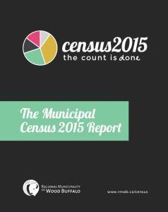 The Municipal Census 2015 Report