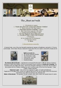 The Must see walk. 1. Hviezdoslavovo namestie