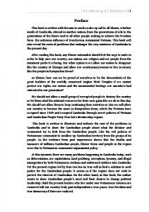 The mystery of Cambodia 1. Preface