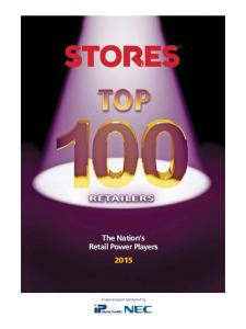 The Nation s Retail Power Players 2015