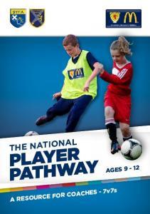 THE NATIONAL PLAYER PATHWAY AGES A RESOURCE FOR COACHES - 7v7s