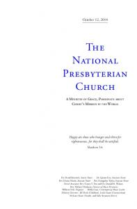 The National Presbyterian Church